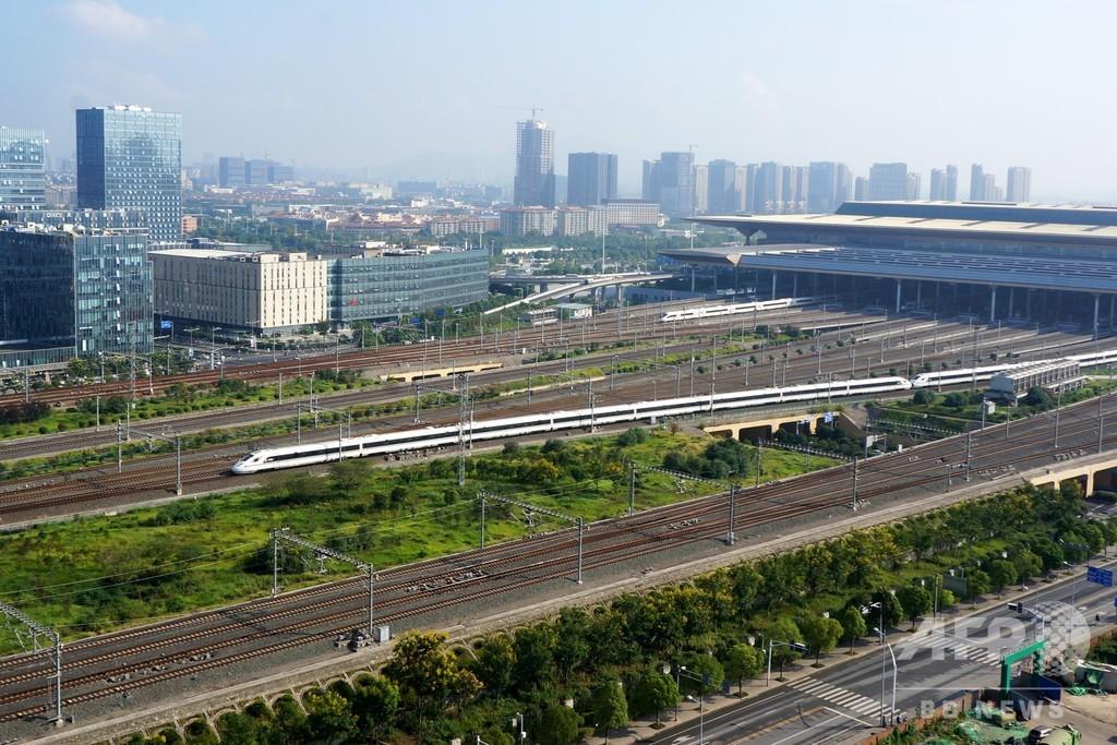 中国の高速鉄道会社が初めて株式上場、時速350キロ「復興号」運行