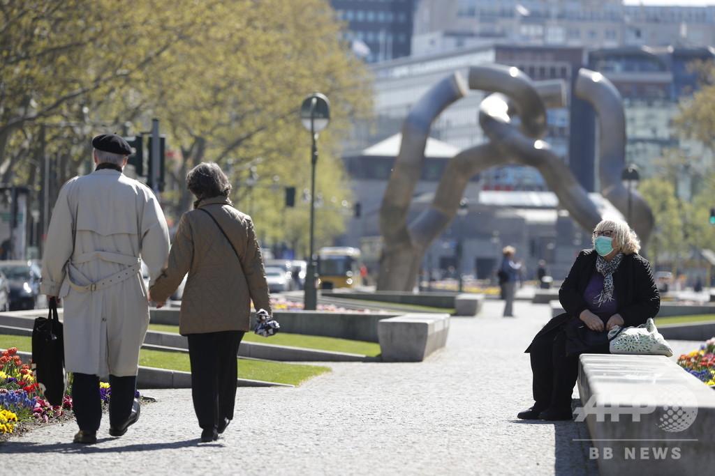 ドイツ、マスク着用義務化の流れ広がる 首都ベルリンも