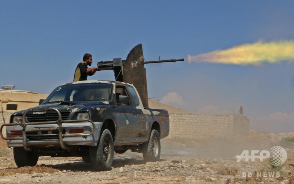 シリア軍のイドリブ県攻撃、過激派が世界に拡散する恐れ 仏外相