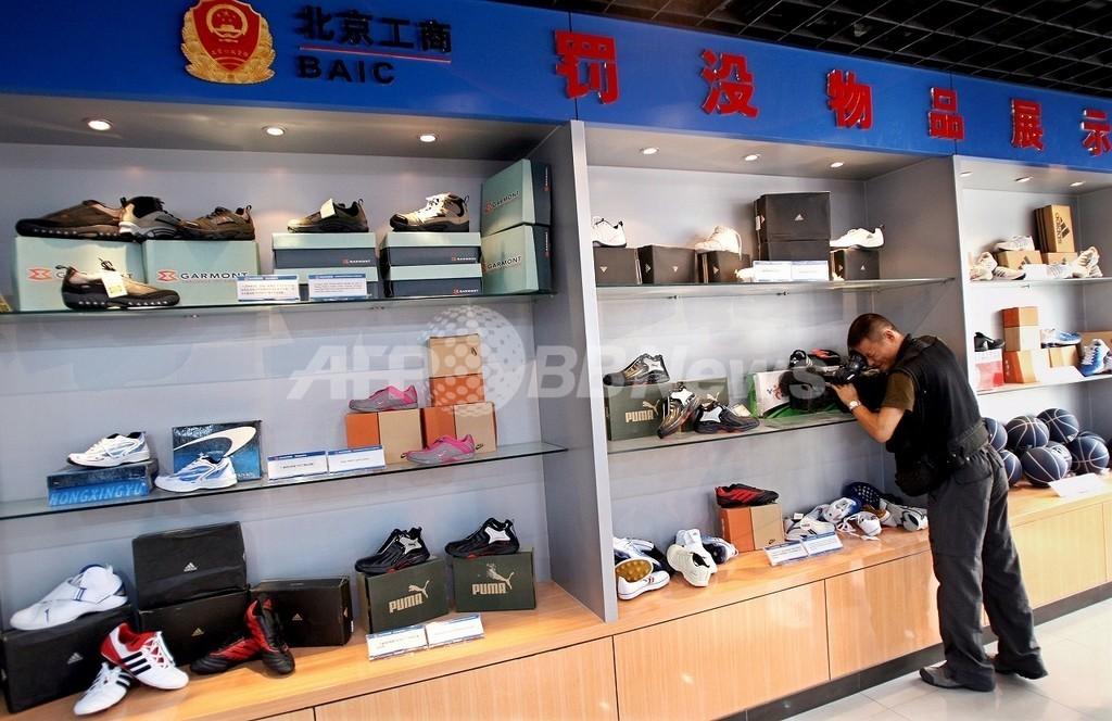 北京五輪中も堂々販売の偽ブランド品、売り上げは好調