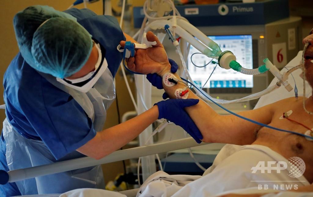 仏看護師の半数超、コロナで燃え尽き症候群寸前 調査結果
