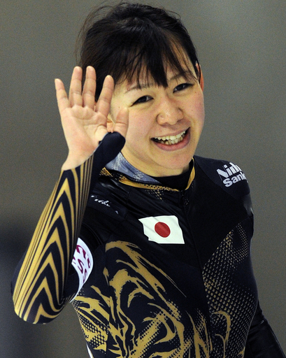 吉井が女子総合2位 長島は男子総合3位、世界スプリント