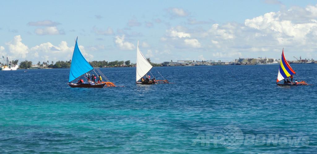 太平洋を「16か月漂流」、マーシャル諸島に男性漂着