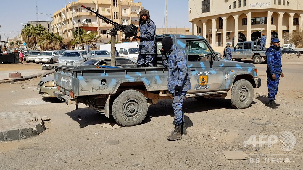 IS、リビアでハフタル氏派の軍事組織を襲撃 9人死亡