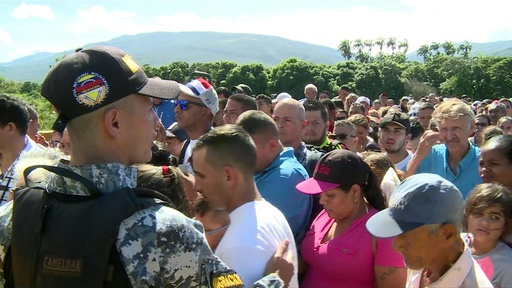 動画:ベネズエラ大統領、コロンビア国境の閉鎖一部解除を指示