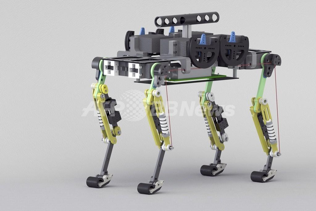 高速走行可能な猫型ロボットを開発、救助活動での使用に期待 スイス