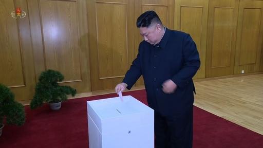 動画:北朝鮮流の「民主主義」、最高人民会議の代議員選挙実施