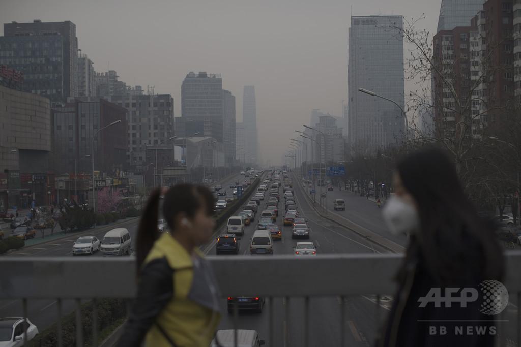 北京のPM2.5、地元排出が3分の2