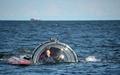 プーチン露大統領、潜水艇で19世紀の沈没船を視察