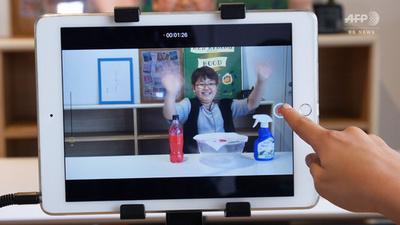 動画:小学生の夢「ユーチューバー」を応援、アカデミー人気 千葉
