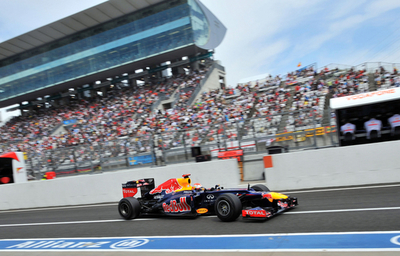 ベッテルがフリー走行3回目でトップ、可夢偉は6番手 日本GP
