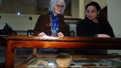 動画:エジプト考古学博物館で珍しい遺跡の数々、期間限定で開催