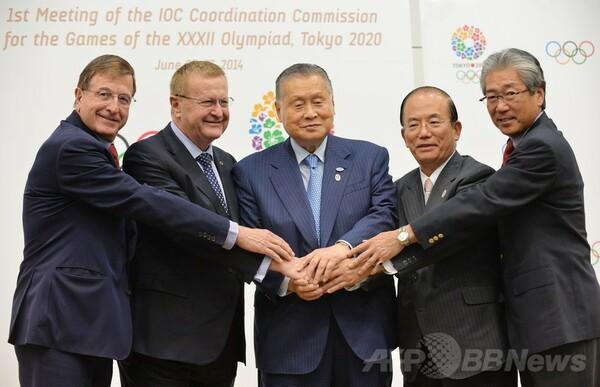 東京五輪の会場計画見直し、IOCは競技団体からの了承求める