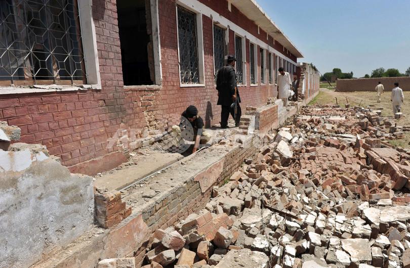 武装勢力がペシャワル近郊の女子校を爆破、死傷者はなし パキスタン