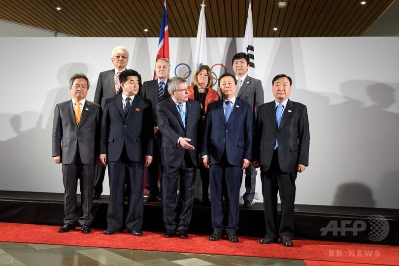 北朝鮮の平昌冬季五輪参加、最終決定へIOCで会談 スイス