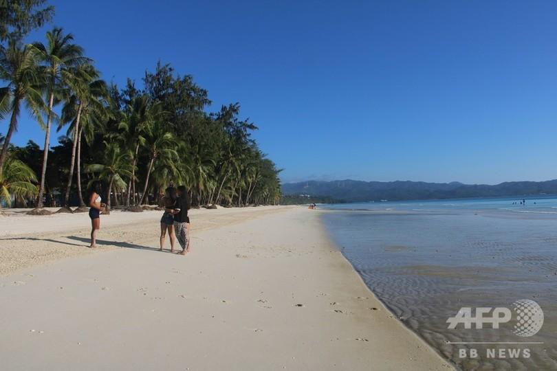 比ボラカイ島で浄化作戦終了、26日に観光客の受け入れ再開へ