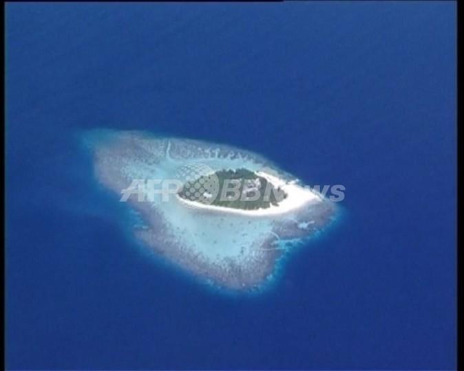 【動画】海面上昇で水没の危機、南の楽園モルディブ