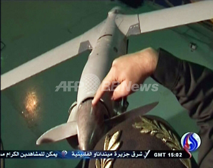 イラン、米無人偵察機を捕えたと発表 米国は否定