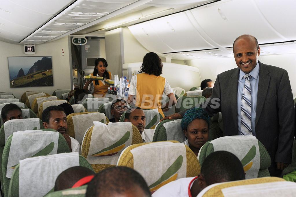 ドリームライナーの運航再開、エチオピア航空