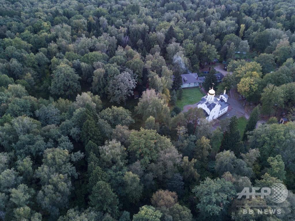 スターリン時代の「粛清」、ナチスの空撮写真で埋葬地を特定 モスクワ
