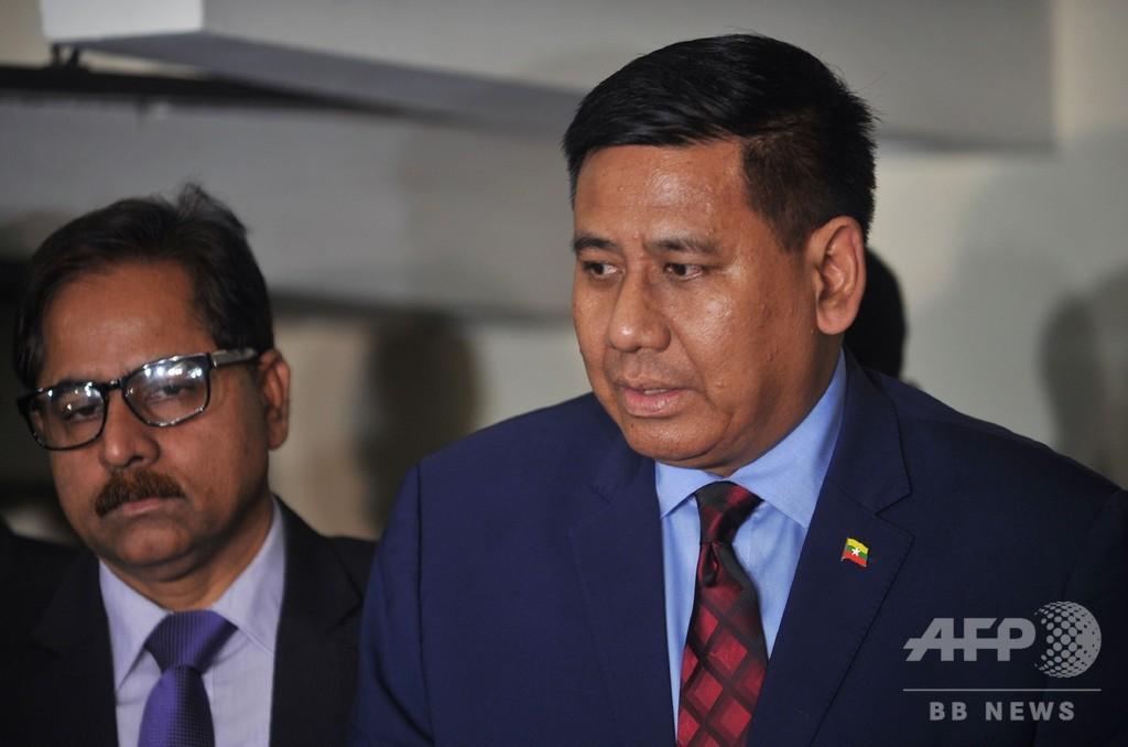 ロヒンギャ難民帰還「11月に第1陣」 ミャンマー高官が表明