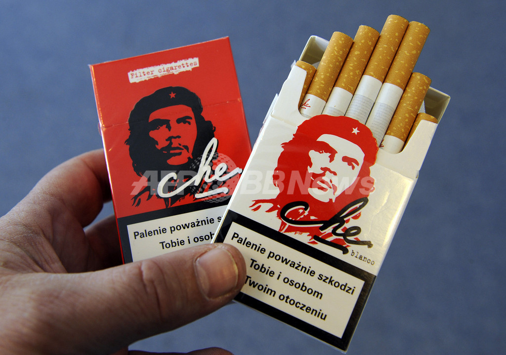 ゲバラが描かれた煙草、右派議員が「全体主義を扇動」と抗議 ポーランド