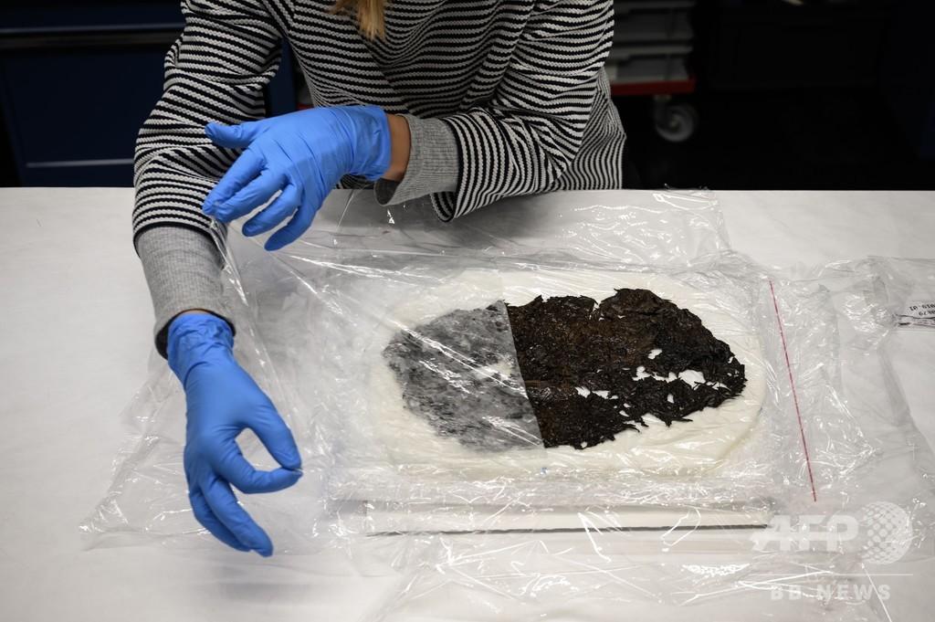 アルプスの氷河融解がもたらす考古遺物の山、研究は時間との闘い