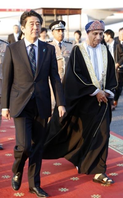 安倍首相、オマーンを訪問 中東アフリカ4か国歴訪