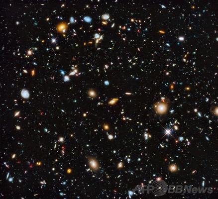 最もカラフルで包括的な宇宙の画像、銀河1万個 ESA公開