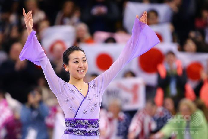 元世界女王の浅田が現役引退を表明、ブログで心境つづる