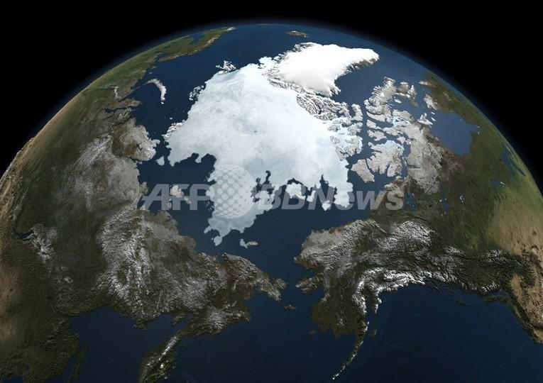 「北極海の海氷減少や異常気象は気候変動への警鐘」、国連環境計画