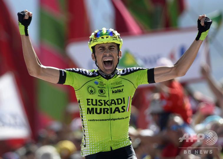 プロ1年目のロドリゲスがブエルタ第13S優勝、エラダが総合首位守る