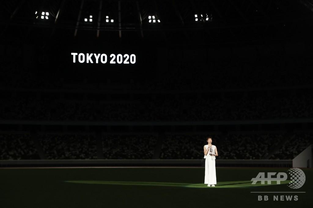 東京五輪1年前セレモニー開催、池江璃花子がメッセージ発信