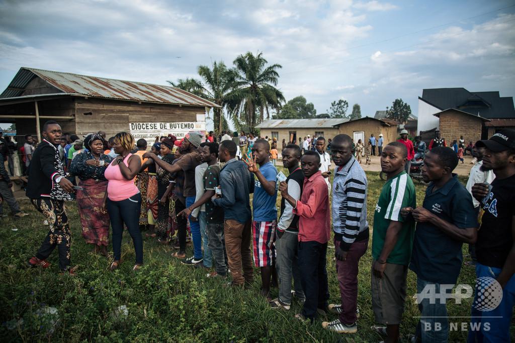 コンゴ西部で民族間の衝突、約900人死亡 国連発表