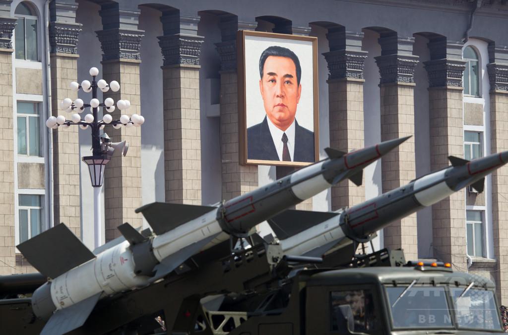 北朝鮮、韓国の連休中にミサイル試射か 日本海に向け3発