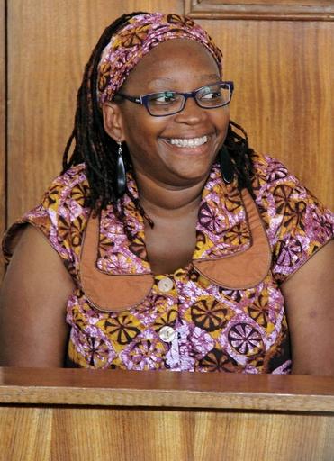 ウガンダ大統領を「尻」呼ばわり、女性活動家が起訴される