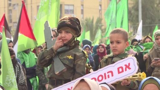 動画:ハマス創設31周年、最高指導者がヨルダン西岸での「抵抗」称賛 パレスチナ