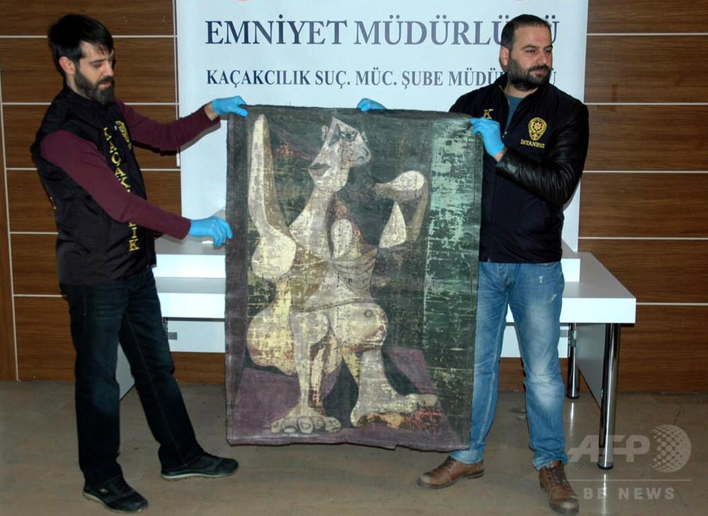おとり捜査で押収の「ピカソ」絵画、実は複製 トルコ