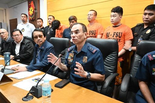 サイバー犯罪容疑で中国人324人を逮捕 フィリピン移民局