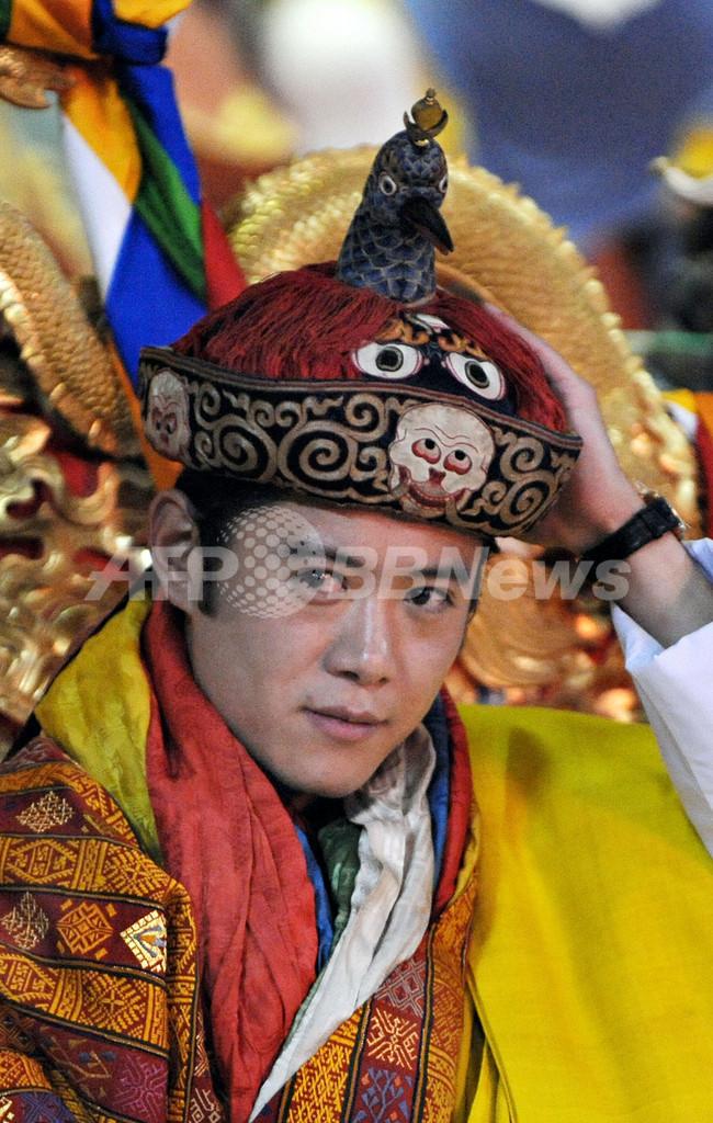 ブータン国王戴冠式、民主化後初