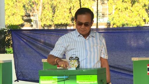 動画:タイ総選挙、投票始まる 2014年クーデター後初