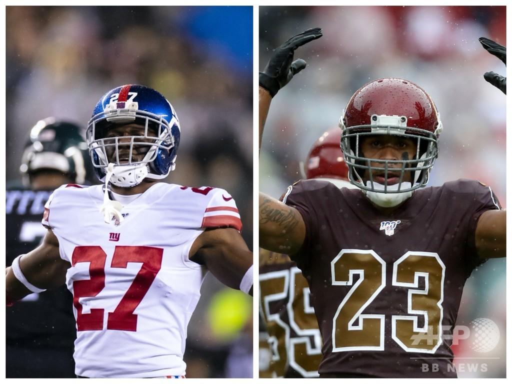強盗容疑の現役NFL2選手が出頭 米フロリダ