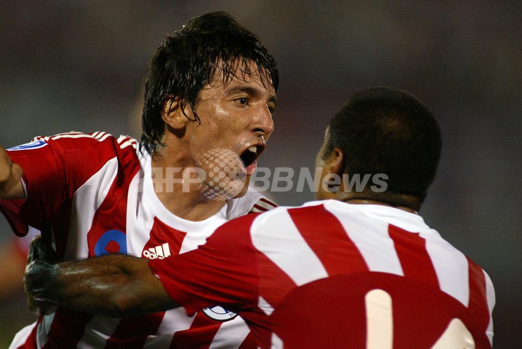 パラグアイ 3連勝で首位キープ、W杯予選
