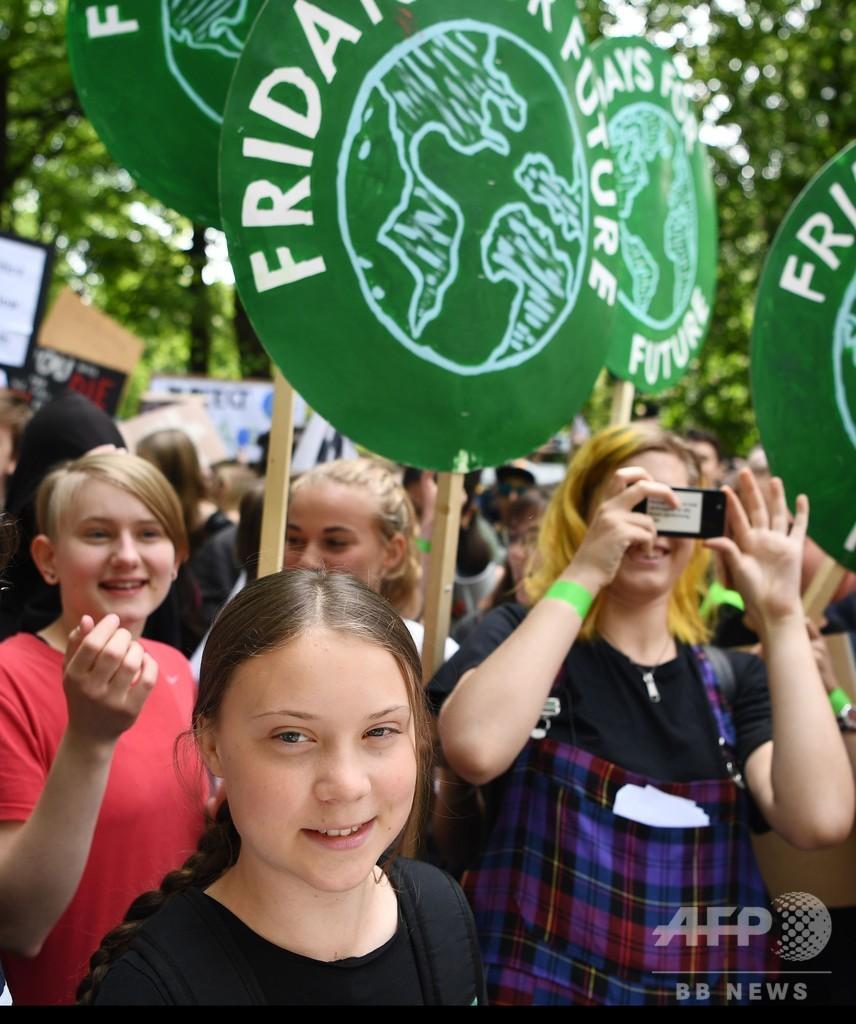 欧州議会選挙で緑の党が躍進、貢献したのは若い女性たち