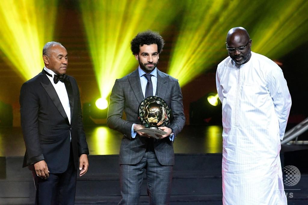 サラーが2年連続でアフリカ年間最優秀選手に、2位は同僚のマネ
