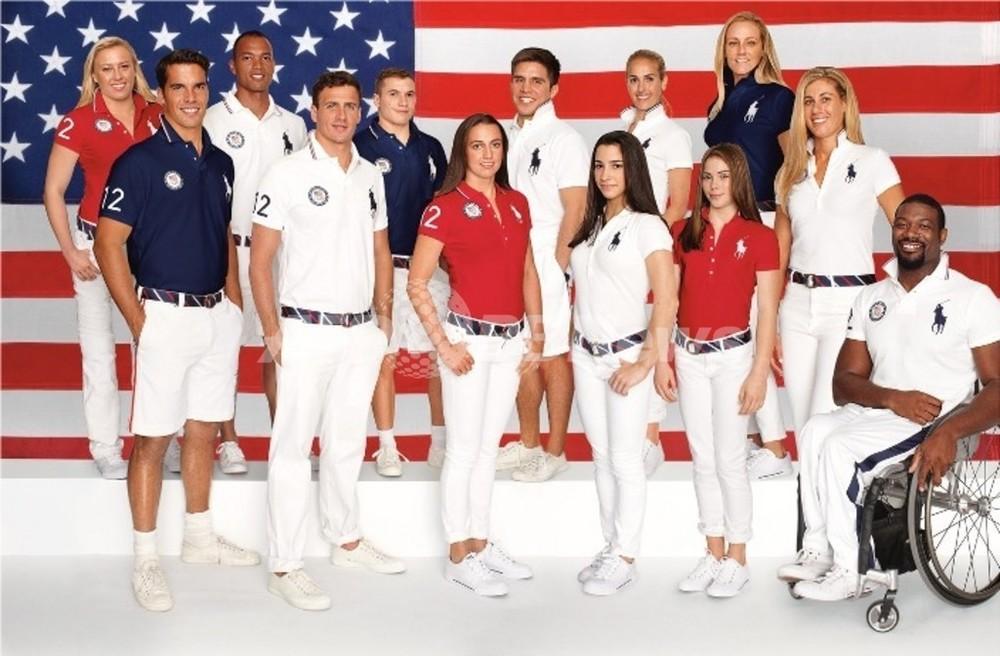 ラルフ ローレン、ロンドン五輪で米選手団ユニフォームをデザイン 写真 ...