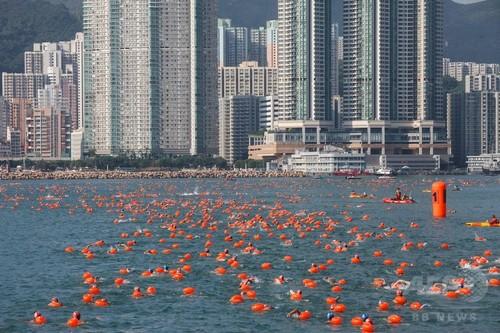 伝統の水泳大会で2人目の死者 香港
