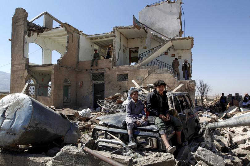 イエメン内戦、過去2年で子ども1500人以上が死亡 ユニセフ