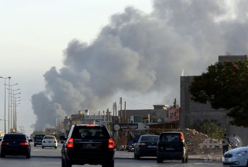 リビア首都の戦闘、2週間で97人死亡 400人超負傷