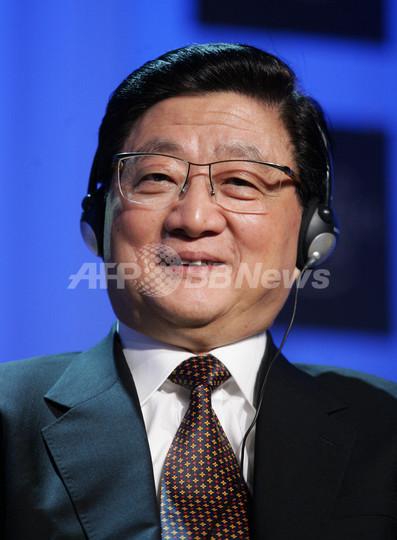 中国の黄菊副首相死去
